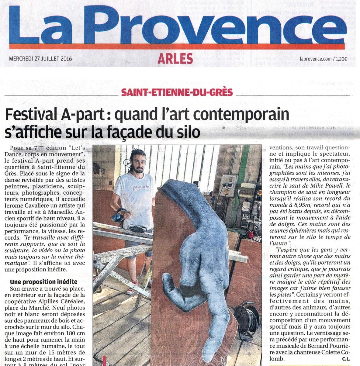 La Provence 27 juillet