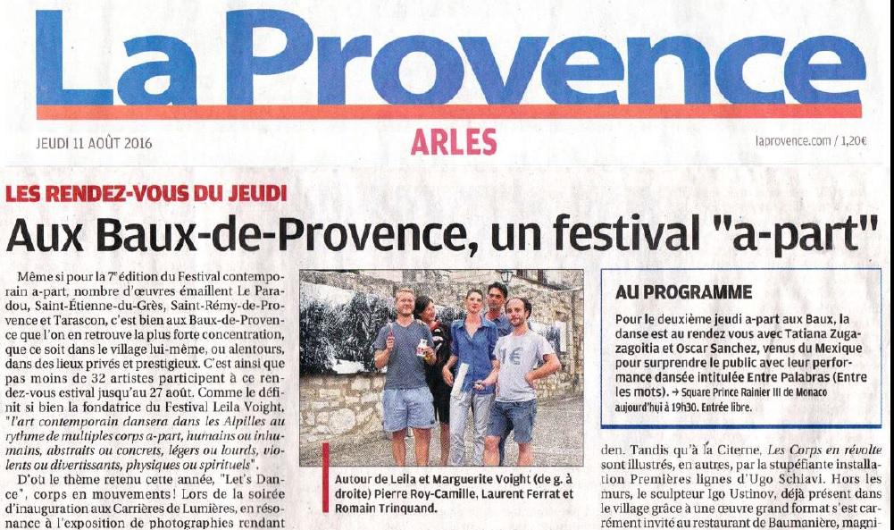 La Provence11aout